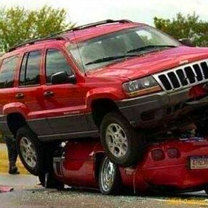 Нелепые и странные аварии