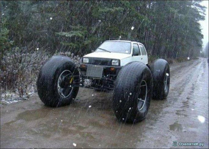 Автомобильные забавности 9