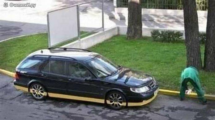 Смешное про водителей и их авто 3