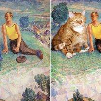 Просто добавь кота фото приколы