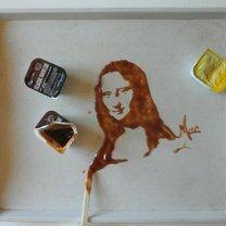 Портреты из пролитой жидкости