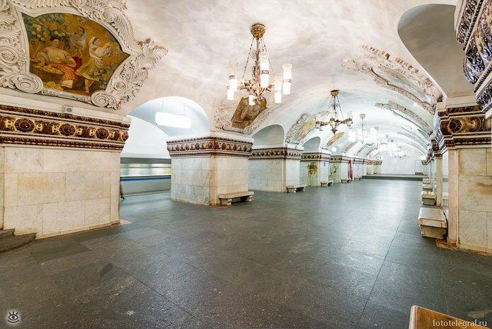 Шедевральный метрополитен 1