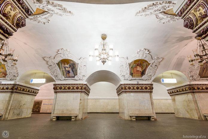 Шедевральный метрополитен 2