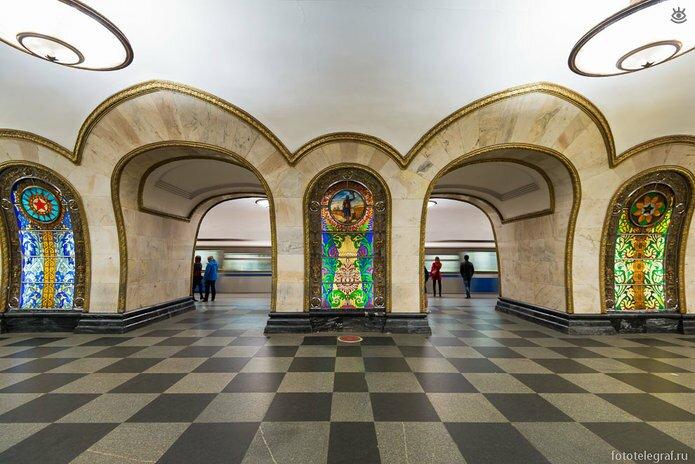 Шедевральный метрополитен 5