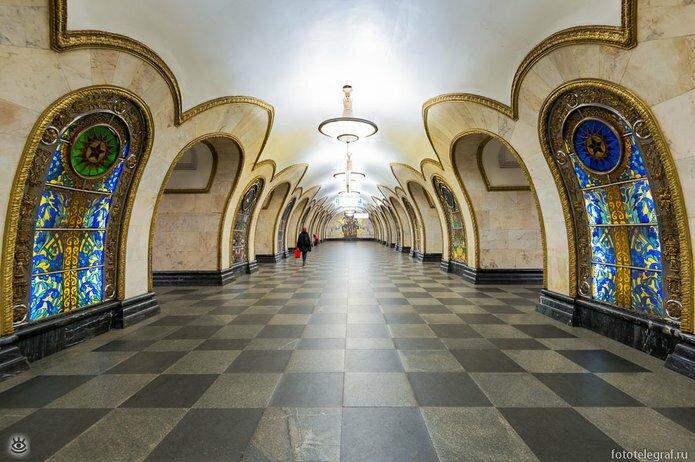 Шедевральный метрополитен 6