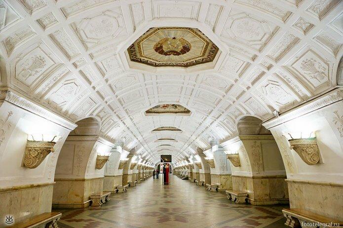 Шедевральный метрополитен 7