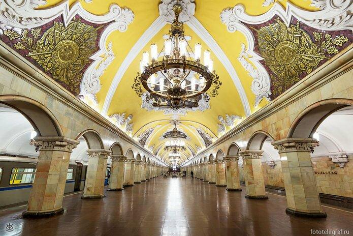 Шедевральный метрополитен 9