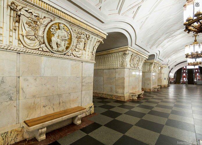 Шедевральный метрополитен 13