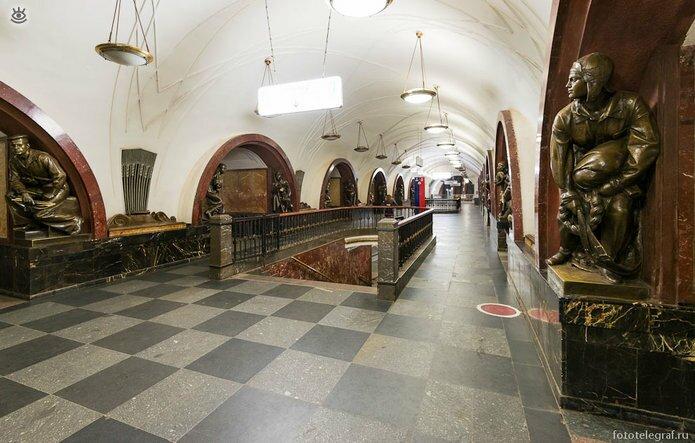 Шедевральный метрополитен 14