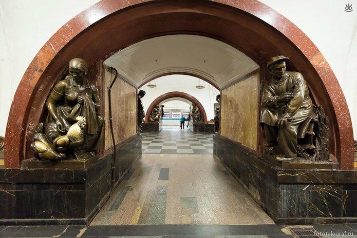 Шедевральный метрополитен 15