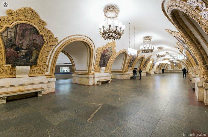 Шедевральный метрополитен 20