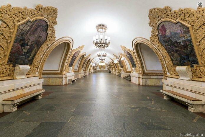 Шедевральный метрополитен 21