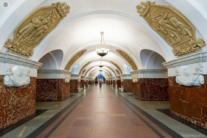 Шедевральный метрополитен 23