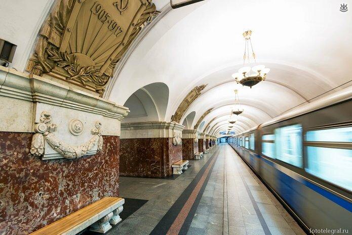 Шедевральный метрополитен 24