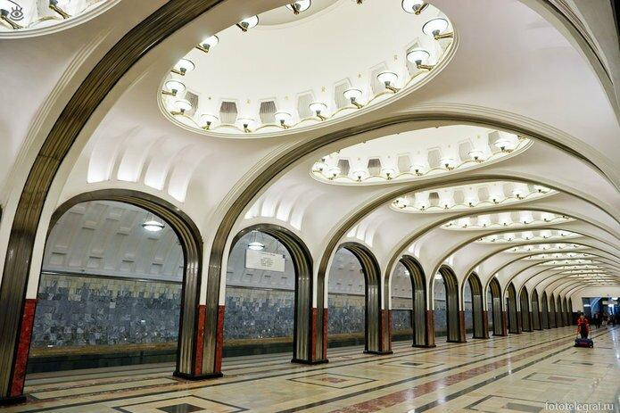 Шедевральный метрополитен 25