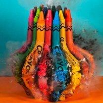 Фото приколы Взрыв цветных предметов (18 фото)