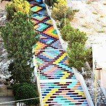 Оригинальные оформления лестниц