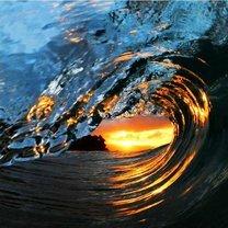 Могучие волны океана фото