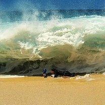 Могучие волны океана фото приколы