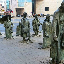 Смешное творчество в скульптурах