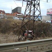 Фото приколы Неожиданные автомобильные аварии (30 фото)