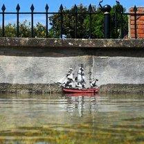 Уличная живопись фото приколы