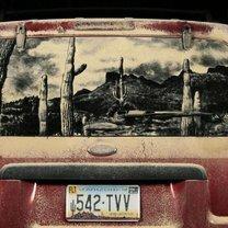 Фото приколы Живопись на чумазых автомобилях (16 фото)