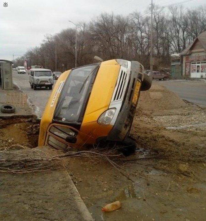 Авто неожиданности на дорогах 0