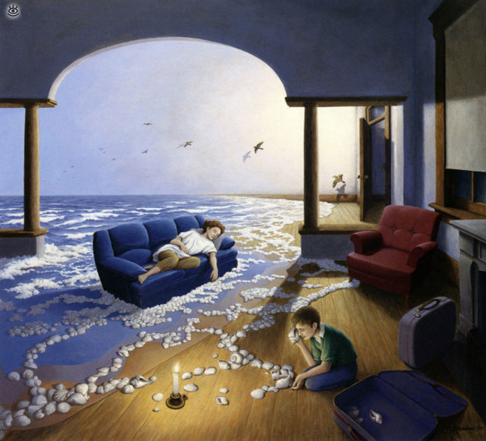 Удивительные иллюзорные картины 24