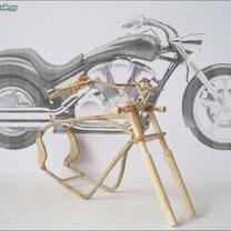 Мотоциклы из дерева