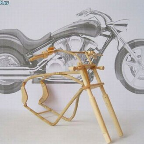 Мотоциклы из дерева фото 1