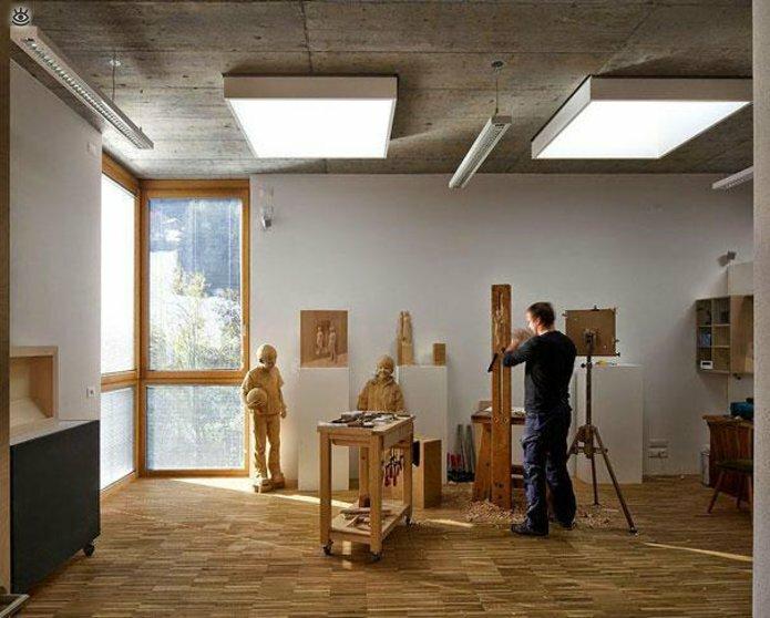 Удивительные деревянные скульптуры 12