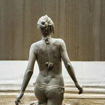Удивительные деревянные скульптуры фото