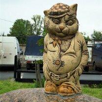 Кошачьи скульптуры