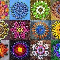Цветочные мандалы
