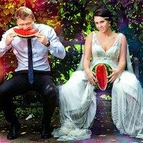 Курьёзные свадебные фото