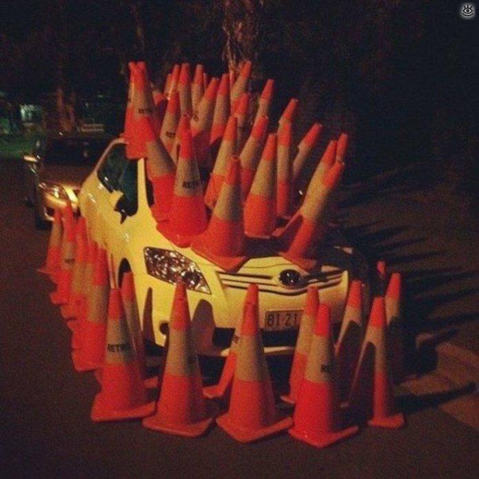 Дорожные странности и комизмы 4