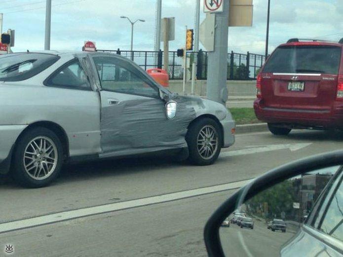 Автокурьёзы и дорожные приколы 11