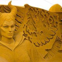 Уникалные песчаные скульптуры