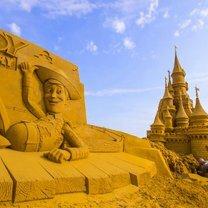 Уникалные песчаные скульптуры фото приколы