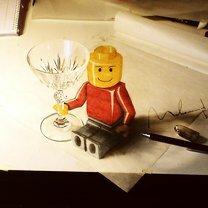 Фото приколы Объёмные карандашные рисунки (10 фото)