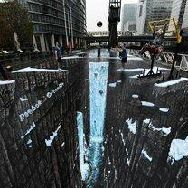 Невероятные рисунки на асфальте фото приколы