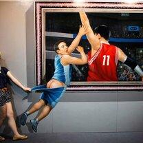 Фото приколы Выставка интерактивных 3d-картин (29 фото)