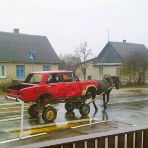 Юмор на колёсах