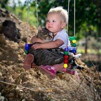 Фото приколы Кошкам нужны дети! (17 фото)