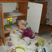 Весёлые дети-проказники смешных фото приколов