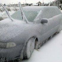 Фото приколы Зимние автоприколы (34 фото)
