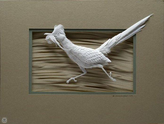 Бумажные природные скульптуры 20