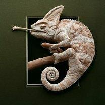 Фото приколы Бумажные природные скульптуры (34 фото)