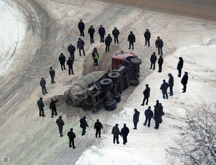 Казусные дорожно-транспортные происшествия 1